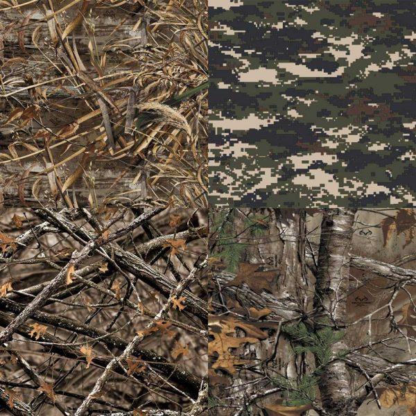 Camo Veil Fabric Pattern