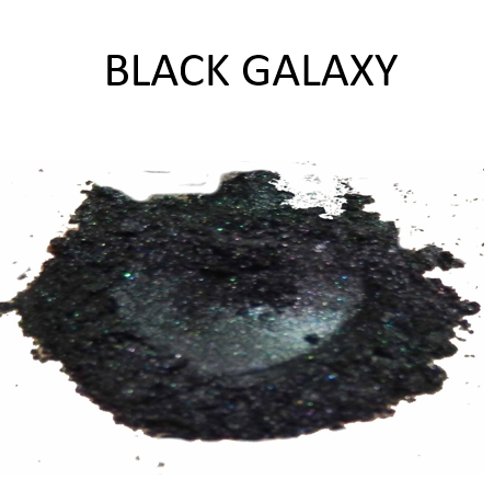 Black Galaxy - Black Metallic Powder