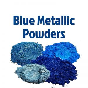 Blue Metallic Powders