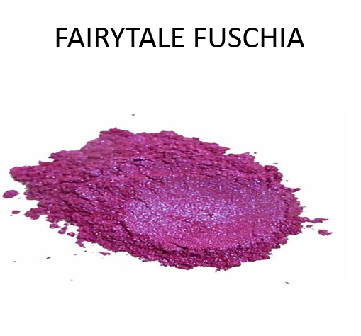 Fairytale Fuchsia Metallic Powders