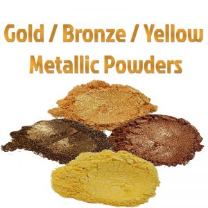 Gold / Bronze & Yellow Metallic Powders