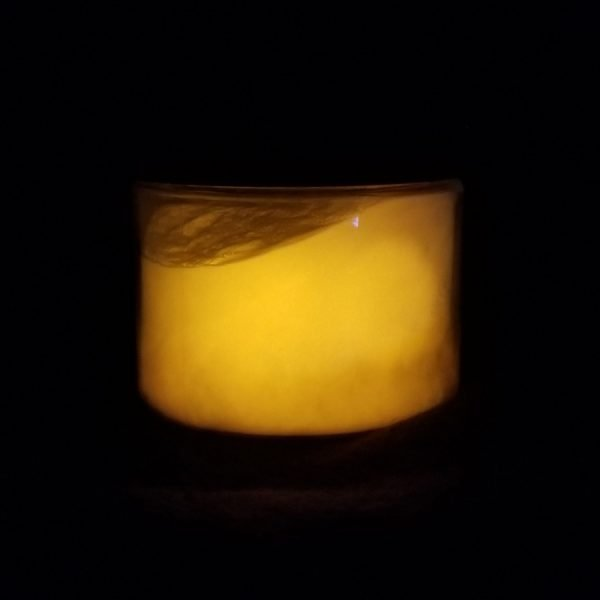 Kryptonite Orange Glow Powder
