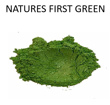 Natures First Green Metallic Powder