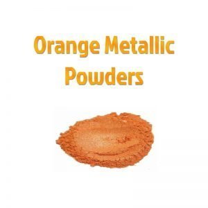 Orange Metallic Powders