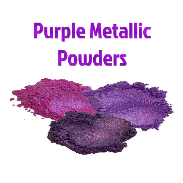 Purple Metallic Powders