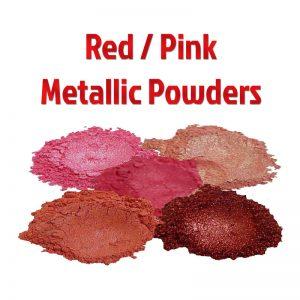 Red & Pink Metallic Powders