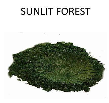 Sunlit Forest Metallic Powder
