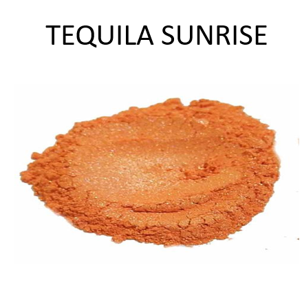 Tequila Sunrise Metallic Powder