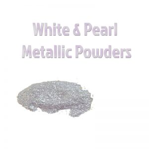 White & Pearl Metallic Powders