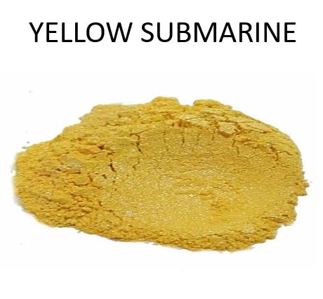 Yellow Submarine Metallic Powder