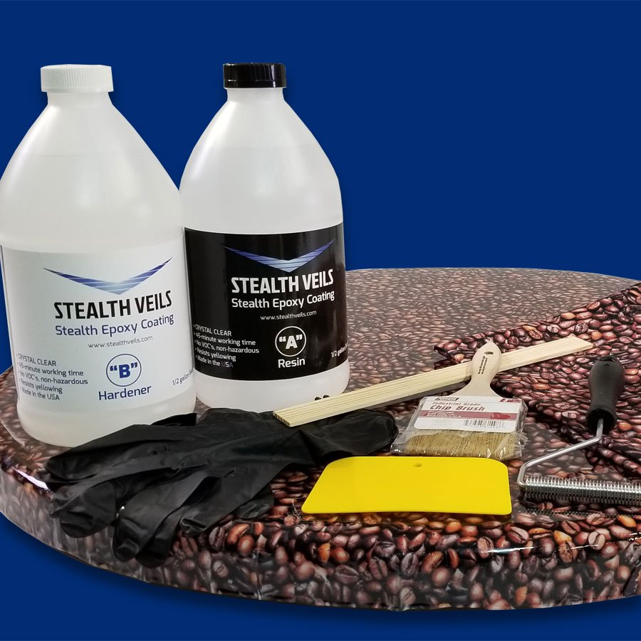 Veil & Epoxy Coating Kits